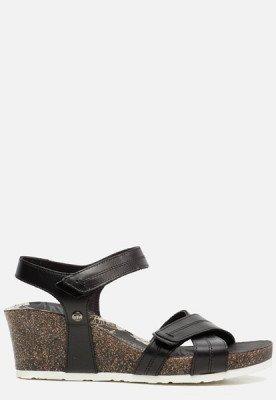 Panama Jack Panama Jack Vieri Boulevard B1 sandalen met sleehak B1