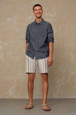 Kings of indigo Kings of Indigo - CRONUS shorts Male - Grey
