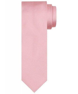 Profuomo Profuomo heren roze zijden stropdas