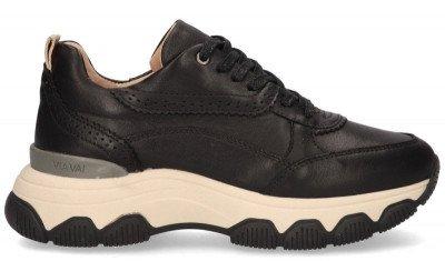 VIA VAI VIA VAI Coco Tess Zwart Damessneakers