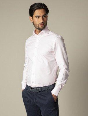 Cavallaro Napoli Cavallaro Napoli Heren Overhemd - NOS Pink Overhemd - Roze