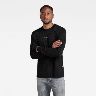 G-Star RAW T-Shirt Moto Neoprene - Zwart - Heren