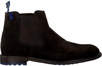 Floris van Bommel Bruine Floris Van Bommel Chelsea Boots 10902