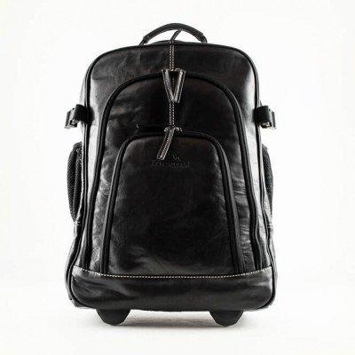 Alpenleder Alpenleder Back Pack Trolley Bag Achensee Black