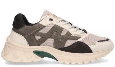Nubikk Nubikk Ross Trek Grijs/Multicolor Herensneakers