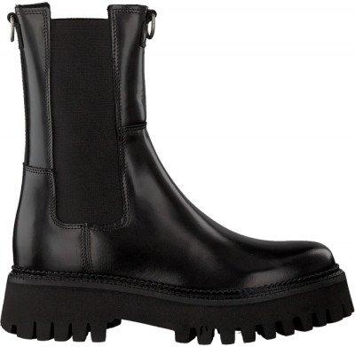Zwarte Bronx Chelsea Boots Groov-y 47268