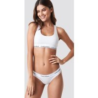 Calvin Klein Thong Modern Cotton - White