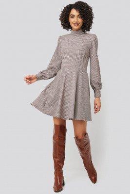 Trendyol Trendyol Multi Colored Patterned Mini Dress - Multicolor