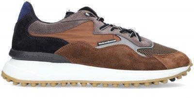 Floris van Bommel Cognac Floris Van Bommel Lage Sneakers 16339