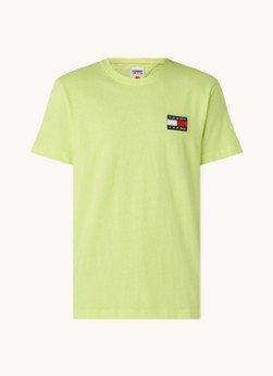 Tommy Hilfiger Tommy Hilfiger T-shirt van biologisch katoen met logoborduring