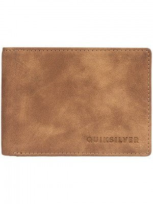 Quiksilver Quiksilver Slim Vintage III Wallet bruin