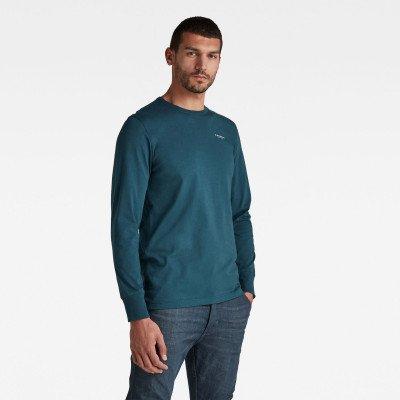 G-Star RAW Base R T-shirt - Donkerblauw - Heren