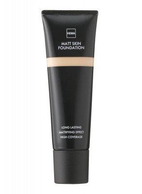 HEMA Matt Skin Foundation Rose 01 (bruin)