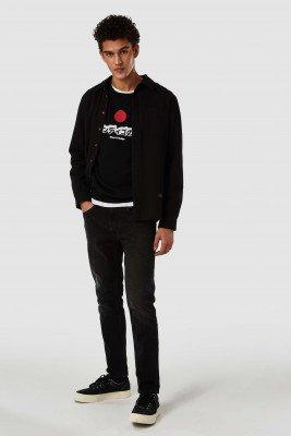Kings of indigo Kings of Indigo - STEPHEN sweater Male - Black