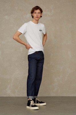 Kings of indigo Kings of Indigo - KONG SELVAGE jeans Male - Black