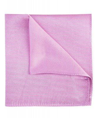Profuomo Profuomo heren roze zijden pochet