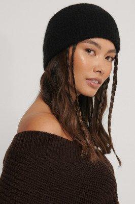 NA-KD Accessories Alpacamix Haarband - Black