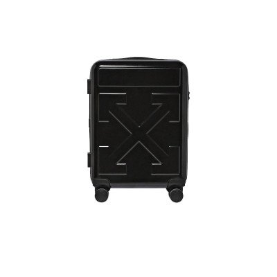 Off-White Off-White Quote Luggage Suitcase 'FOR TRAVEL' Black