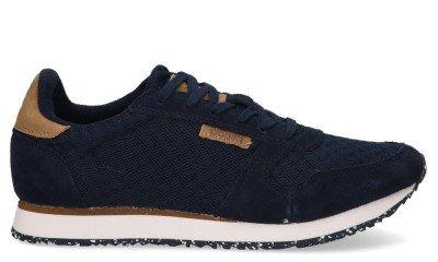 Woden Woden Ydun WL028 Donkerblauw Damessneakers