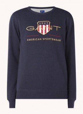 Gant Gant Sweater met logo