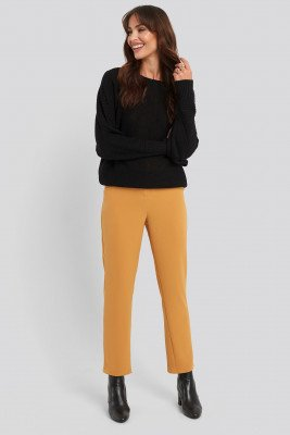NA-KD Classic NA-KD Classic High Waist Suit Trousers - Orange