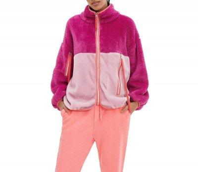 UGG UGG Marlene Sherpa Jacket Roze Dames Jacket