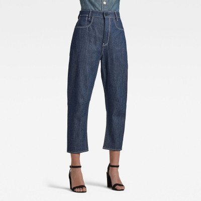 G-Star RAW C-Staq 3d Boyfriend Crop Jeans C - Donkerblauw - Dames