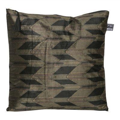Firawonen.nl PTMD favor donker groen tribal print kussen
