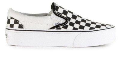 Vans Vans Checkerboard Classic Slip-On Platform VN00018EBWW Damessneakers