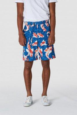 Kings of indigo Kings of Indigo - MIGUEL shorts Male - Darkblue