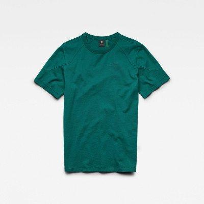 G-Star RAW Shoulder Panel R T-Shirt - Groen - Heren