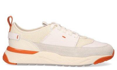 Santoni Santoni 21274 Off-White Herensneakers