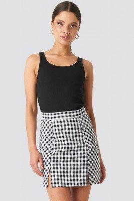 NA-KD Classic NA-KD Classic Gingham Mini Skirt - Multicolor