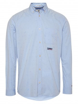 Tommy Jeans Tommy Jeans Overhemd TJM Novel Jacquard Shirt DM0DM07896