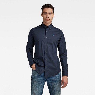 G-Star RAW Dressed Super Slim Shirt - Donkerblauw - Heren