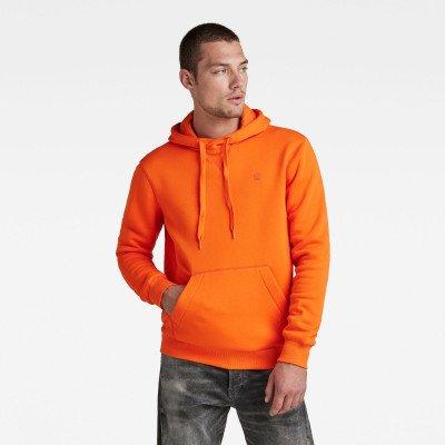G-Star RAW Premium Core Hoodie - Oranje - Heren