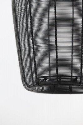 Light en Living Light & Living Hanglamp 'Adeta' 23cm, mat zwart