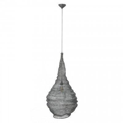 LifestyleFurn Hanglamp 'Zachary' gaas, Ø50 cm