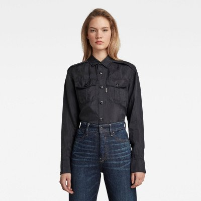 G-Star RAW 3301 Regular Shirt - Zwart - Dames