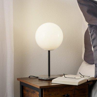 Menu Menu TR Bulb tafellamp 41cm marmer/opaal glans