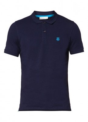 Selected Homme Selected Homme Aro slim fit polo met stretch