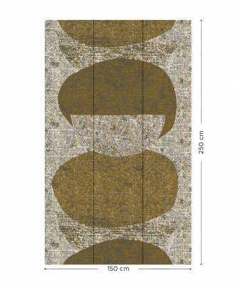 WOOOD Exclusive WOOOD Posterbehang 'Cira' kleur Meerkleurig, 250 x 150cm