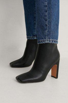 NA-KD Shoes NA-KD Shoes Enkellaarsjes - Black