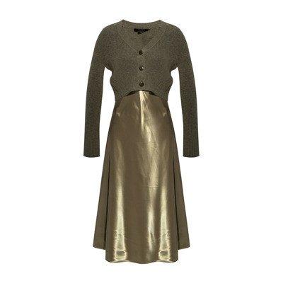 AllSaints Orri two-in-one dress