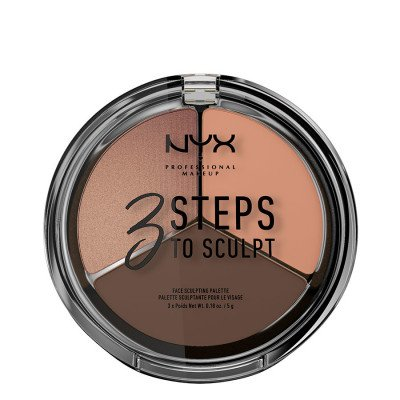 NYX Professional Makeup NYX Professional Makeup Deep 3 Steps To Sculpt Contouring 5g