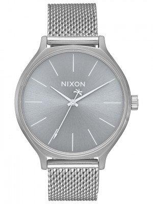 Nixon Nixon The Clique Milanese grijs