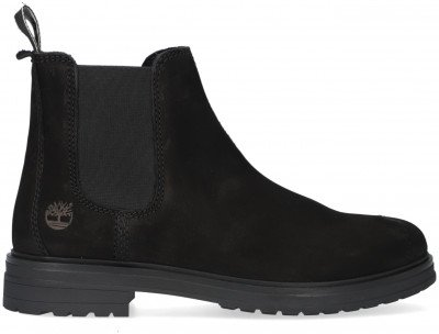 Timberland Zwarte Timberland Chelsea Boots Hannover Hill
