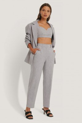 NA-KD Classic NA-KD Classic Pantalon - Grey