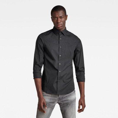 G-Star RAW Dressed Super Slim Shirt - Zwart - Heren