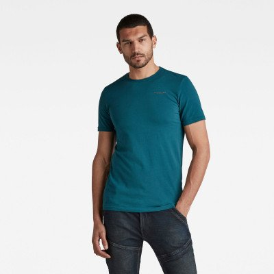 G-Star RAW Slim Base R T-Shirt - Groen - Heren